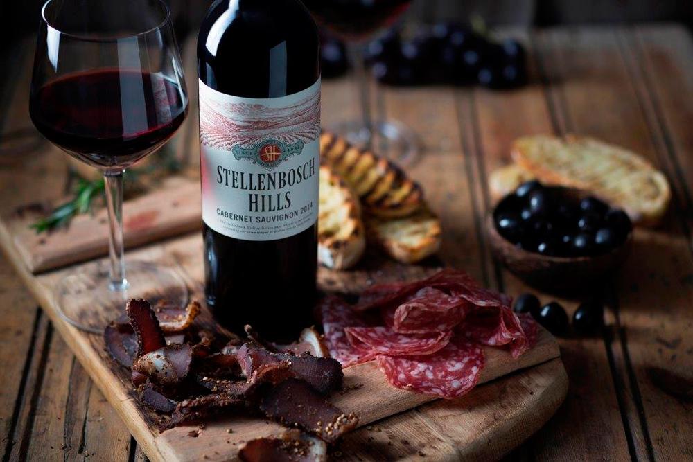 Stellenbosch Hills Bacon, Bilton, Wine Tasting