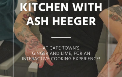 Chef Ash at Ginger and Lime