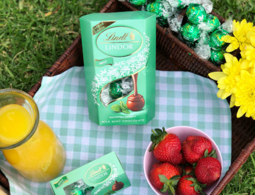 Lindt's new addictively delicious LINDOR Mint.
