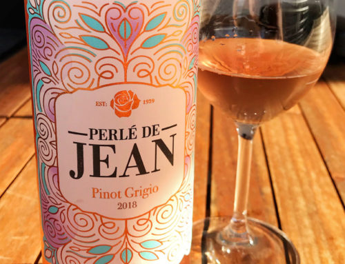 My new favourite summer wine, Perlé de Jean, #Brosé.