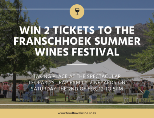 Win tickets to Franschhoek Summer Wines.
