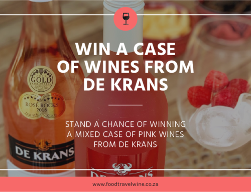 Win a case of wine from De Krans.