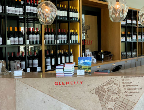 The Tasting room and Bistro, Glenelly Wine Estate.