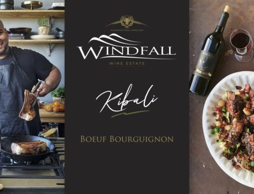Boeuf Bourguignon paired with Windfall's Kibali Red